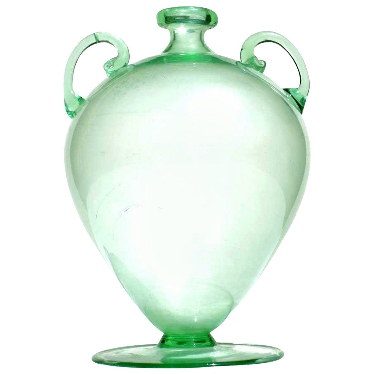 """""""Soffiati"""" Vittorio Zecchin by MVM 1920s Murano Glass Vase"""
