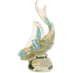 Seguso Fish Sculpture