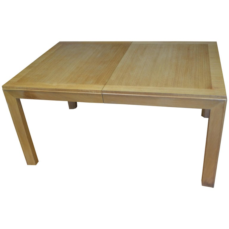 Dining Table with Two Leaves Designed by Robsjohn-Gibbings for Widdicomb