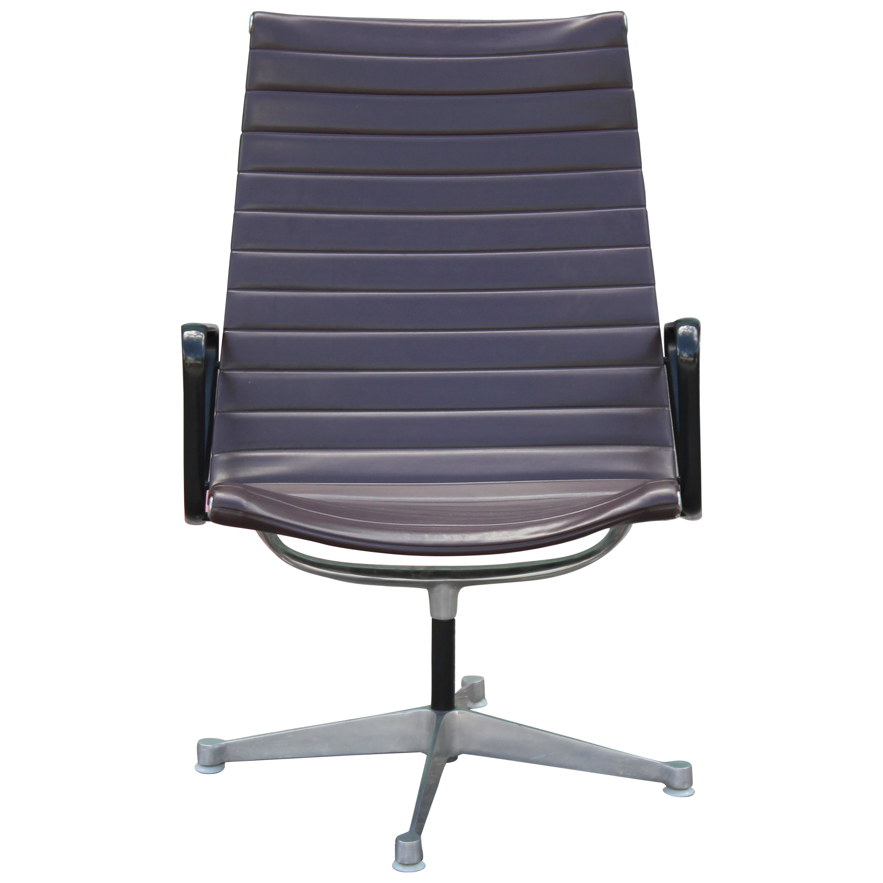 Modern Charles Eames For Herman Miller Aluminium Group Lounge Chair