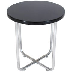 Josef Hofmann Art Deco Bauhaus Round Side Occasional Table Stand