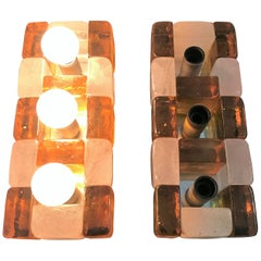 Mid-Century Modern Sconces by Poliarte, Italy, circa 1960
