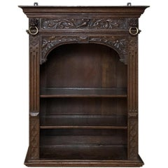 19th Century Renaissance Revival Hand-Carved Dutch Wall Shelf