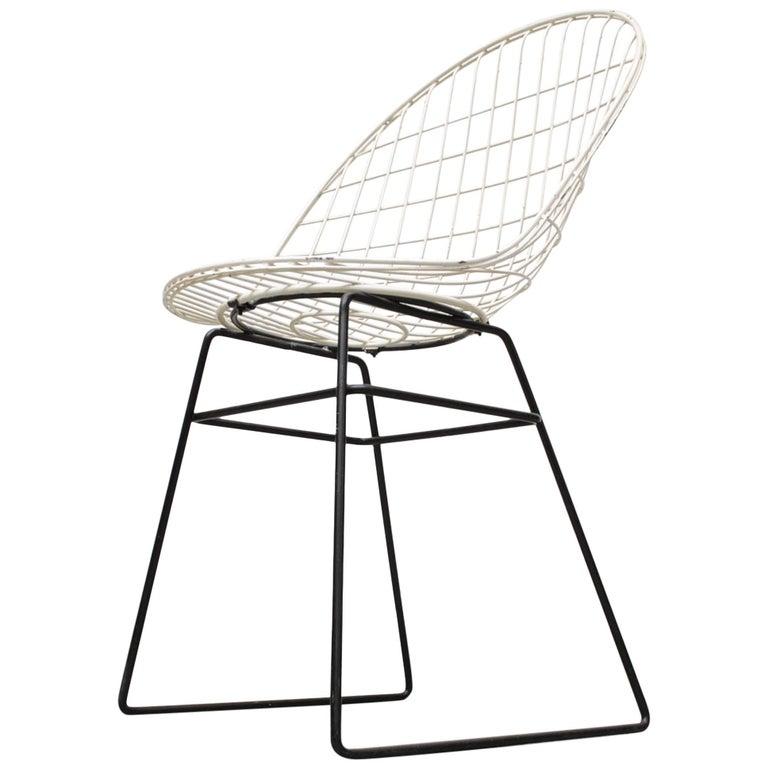 Cees Braakman and Adriaan Dekker Wire Chair