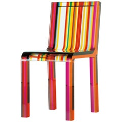 Rainbow Chair by Patrick Norguet in Acrylic Resin for Cappellini