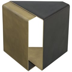 Fold End Table by Uhuru Design in Patina Finish
