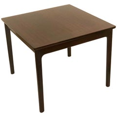 Rare Rosewood End Table by Ole Wanscher for P.Jeppesens Møbelfabrik of Denmark