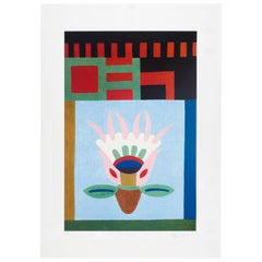 Nathalie du Pasquier Screen Print, Limited Edition Artist Print, Italy, 2008