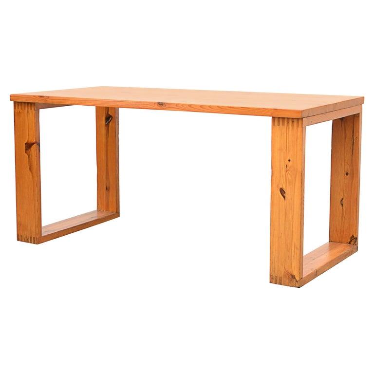 Ate Van Apeldoorn Simple Pine Table