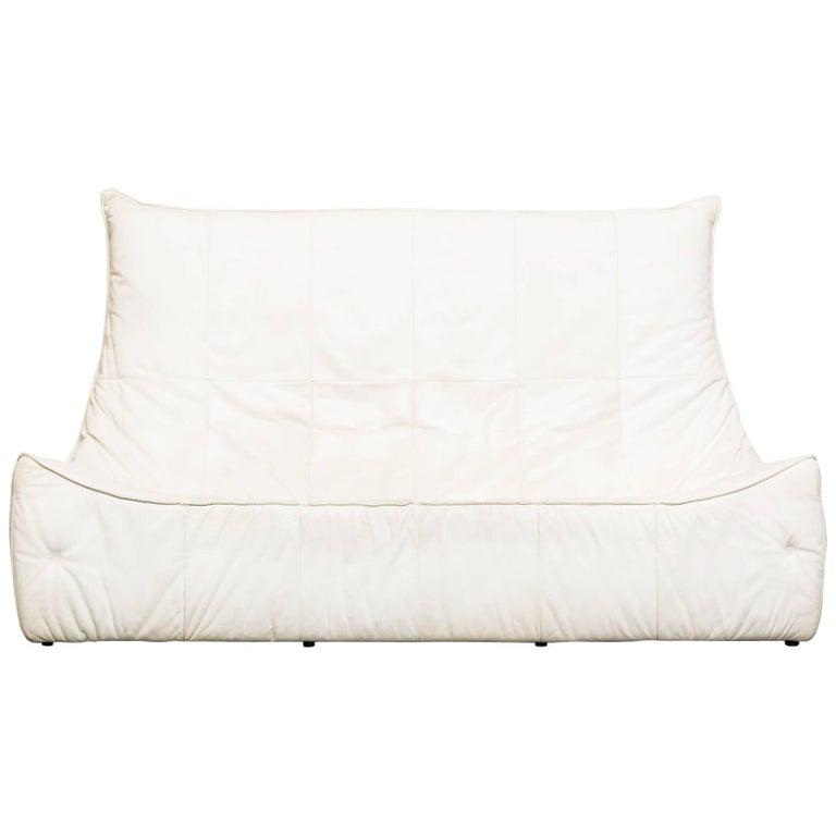 "Impressive ""Rock"" Three-Seat Sofa by Gerard van den Berg for Montis"