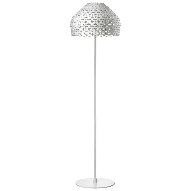 FLOS Tatou F Floor Lamp in White by Patricia Urquiola