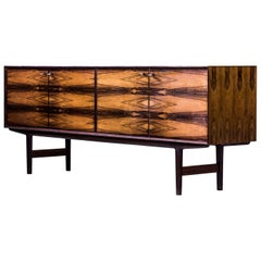 """Hertug"" Sideboard by Fredrik Kayser for Viken Möbelfabrikk, Norway, 1950s"