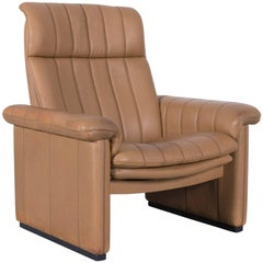 De Sede DS Leather Armchair Cognac Brown One-Seat