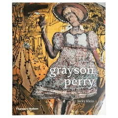 """""""Grayson Perry"""" Book by Jacky Klein, Signed by the Artist"""