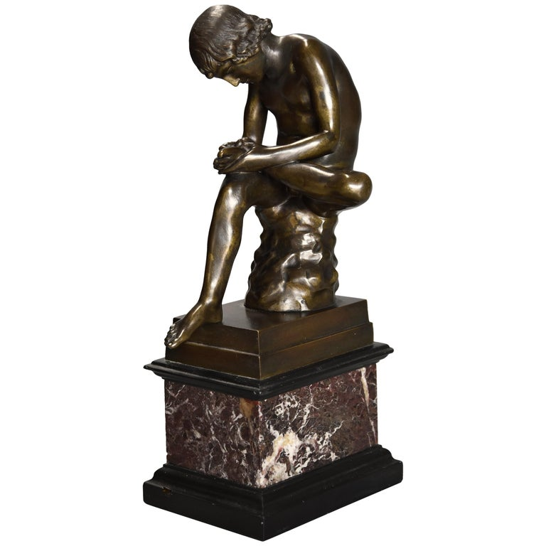 19th Century Bronze 'Spinario' or 'Boy with Thorn in Foot', after the Antique