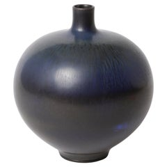 Berndt Friberg Unique Stoneware Vase for Gustavsberg, 1958