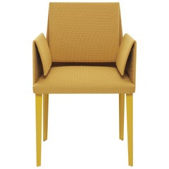Baleri Italia Marì Small Armchair in Yellow by Luigi Baroli