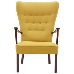 1960 Fritz Hansen Wing Chair, Denmark
