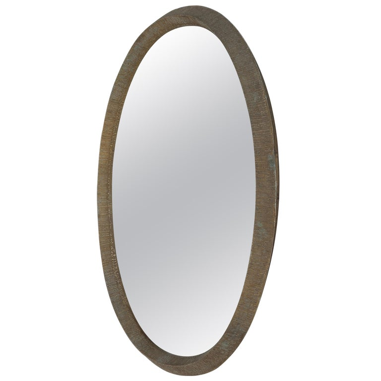 Lorenzo Burchiellaro Mirror Aluminium, 1970s
