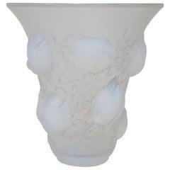 Rene Lalique Opalescent Glass Vase