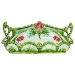 Jugendstil Ceramic Jardinière, circa 1905