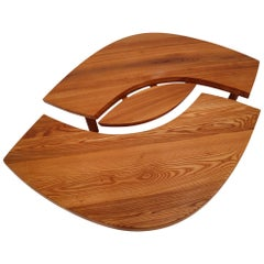 "1969 Pierre Chapo T22 Eye-Shaped Coffee Table Model ""L'OEIL"""