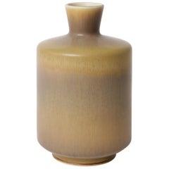 Berndt Friberg Unique Stoneware Vase for Gustavsberg, 1966
