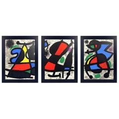 Joan Miró Lithographs