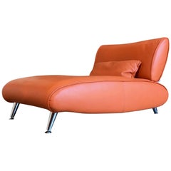 Steiner Leather Chaise Longue