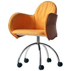 """Vico Magistretti """"Incisa"""" Armchair for De Padova, Italy"""