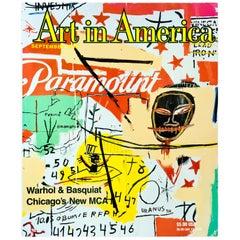 Vintage Warhol Basquiat Art in America 'Warhol Basquiat Collaborations'