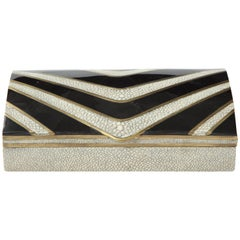 Shagreen and Sea Shell Box