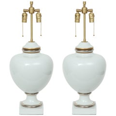Richard Ginori Porcelain Lamps