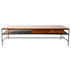Planner Group Maple and Iron Coffee Table by Paul McCobb