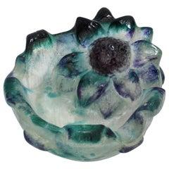 Antique Gabriel Argy-Rousseau Pate-de-Verre Art Glass Ashtray