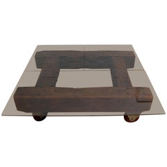 English Industrial Coffee Table