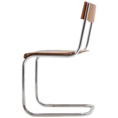 Bauhaus Children's Chrome Chair