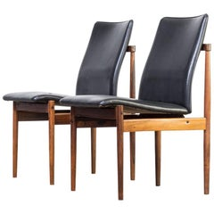 1960s Inger Klingenberg Dining Chairs for Fristho Set of Two