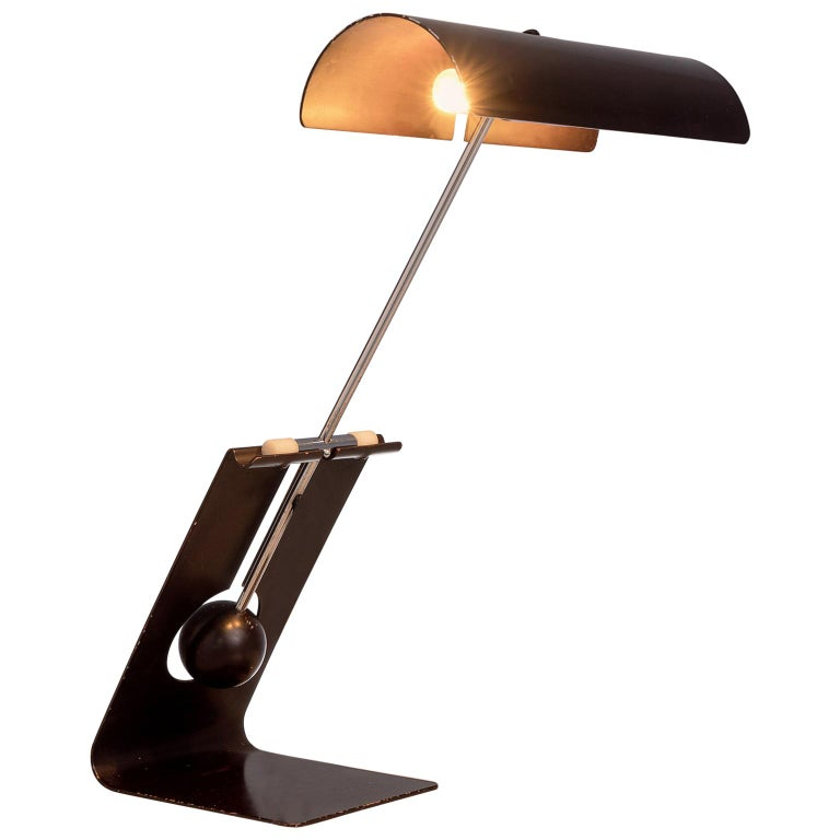 Mauro Martini for Fratelli 'Picchio' Table Lamp, circa 1960 For Sale