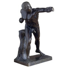 Bronze of the Borghese Gladiator