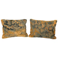 Pair of 18th Century Aubusson Pillows