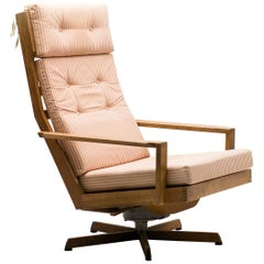 Madsen and Schubel Oak Lounge Chair