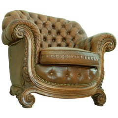 Baroque 20th Century Chesterfield Special Rare to Find