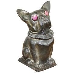 French Bulldog Moneybox Art Deco