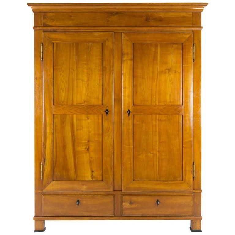 19th Century Biedermeier Cherrywood Cupboard, circa 1820-1830