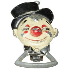 Distressed Clown Bottle Opener, circa 1940s