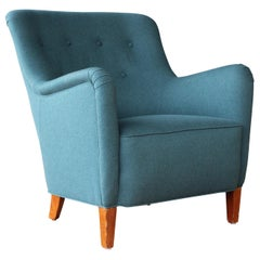 Armchair by Ernest Race, England, 1940s