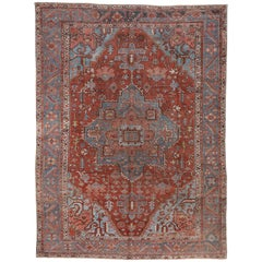 Fine Antique Heriz Carpet