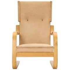 Laminated Birch Wingback Lounge Chair by Alvar Aalto for Artek