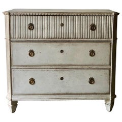 Swedish Late Gustavian Chest of Drawers